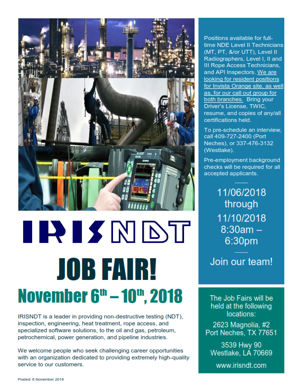 Irisndt | Irisndt Has Been Serving The Oil And Gas